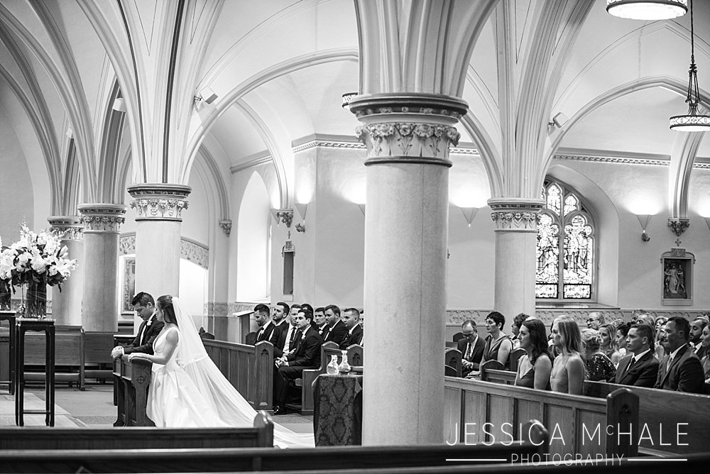 saint agathas milton wedding ceremony