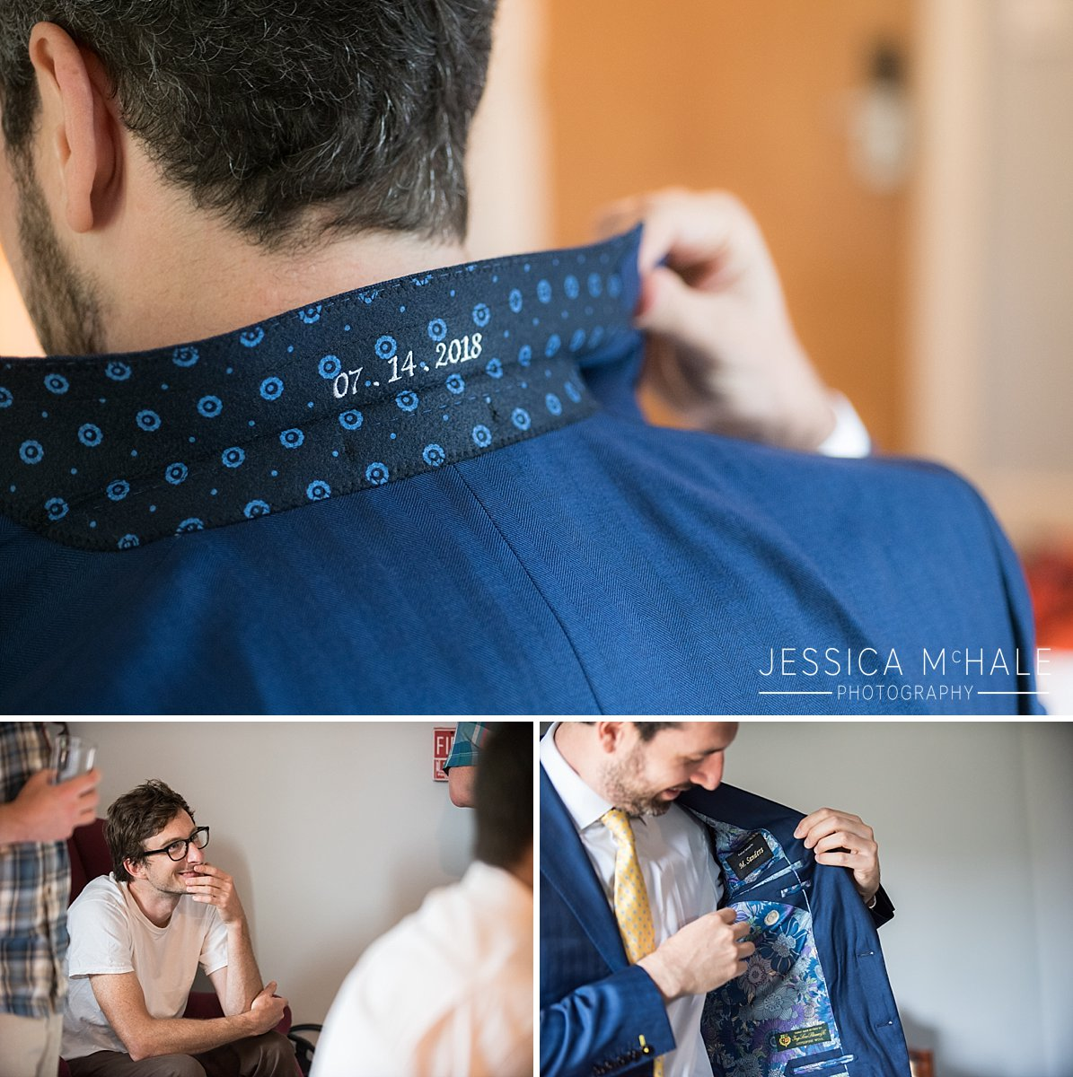 handmade wedding suit