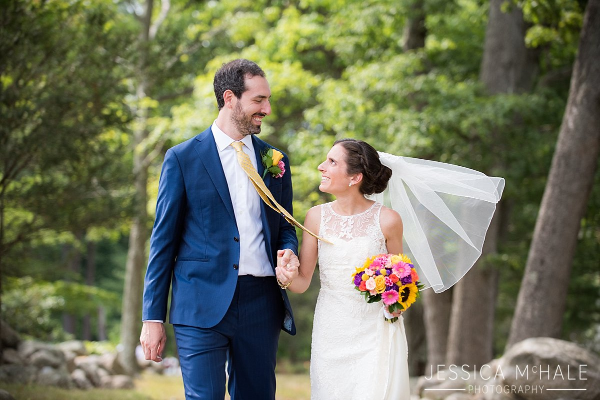 warren conference center wedding bride and groom