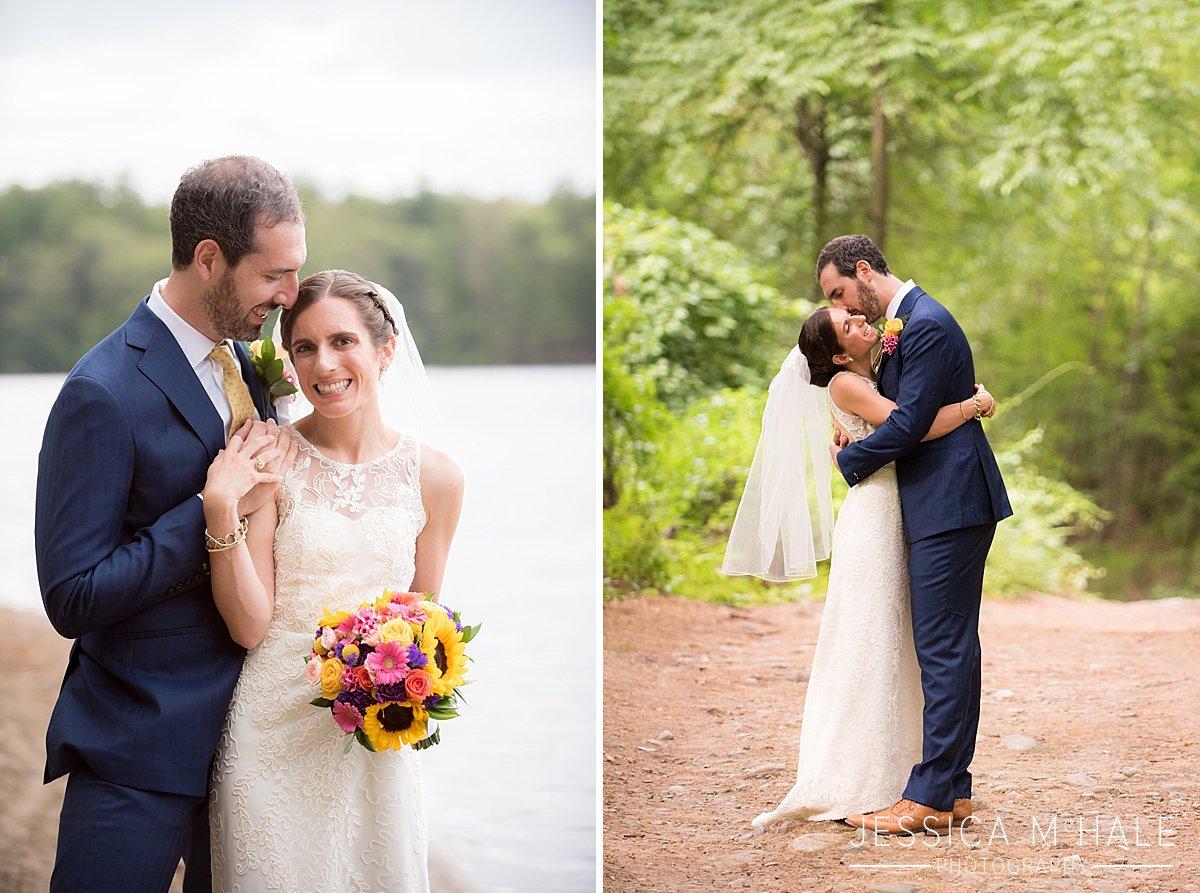 warren conference center wedding bride and groom photos