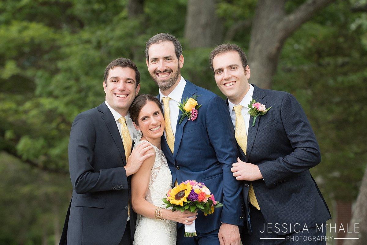 siblings at wedding