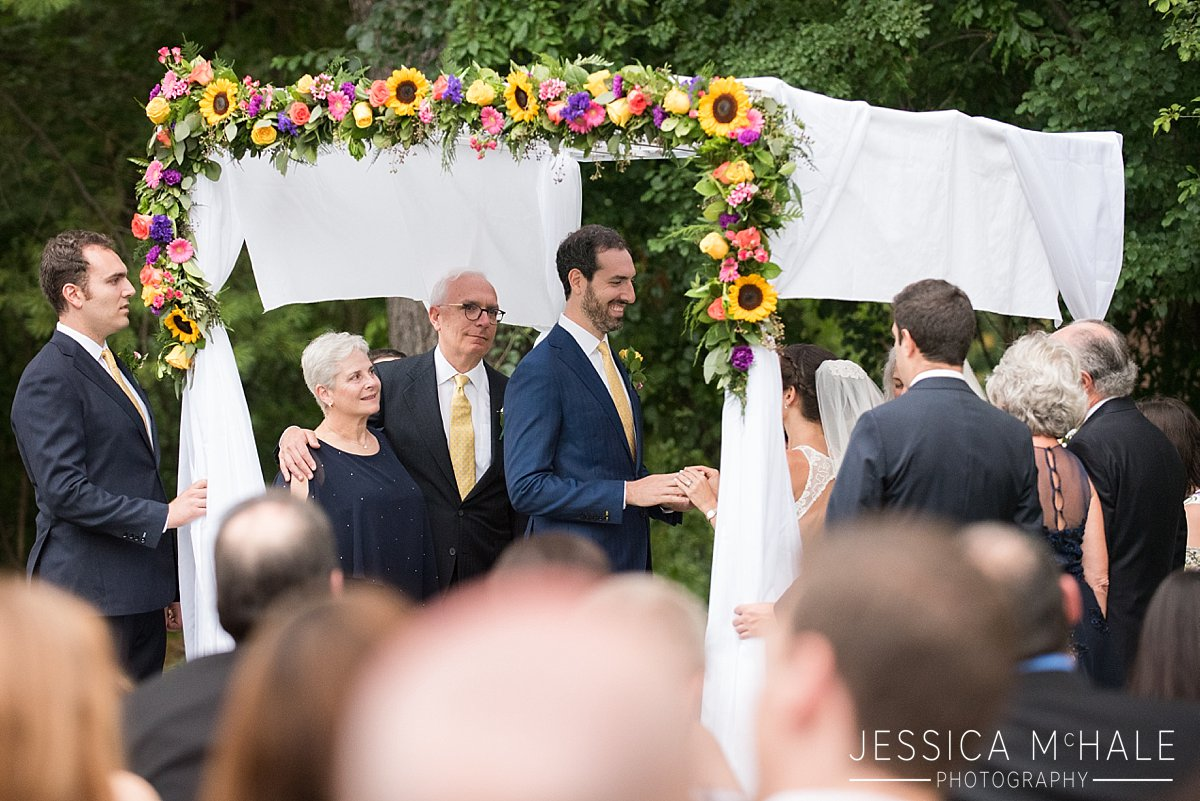 under the huppah jewish wedding ceremony