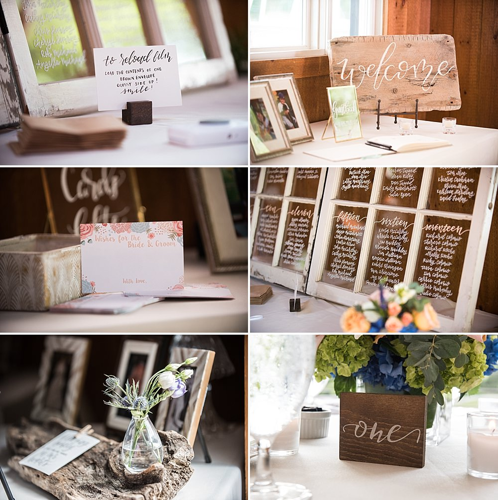 wellfleet beach wedding details