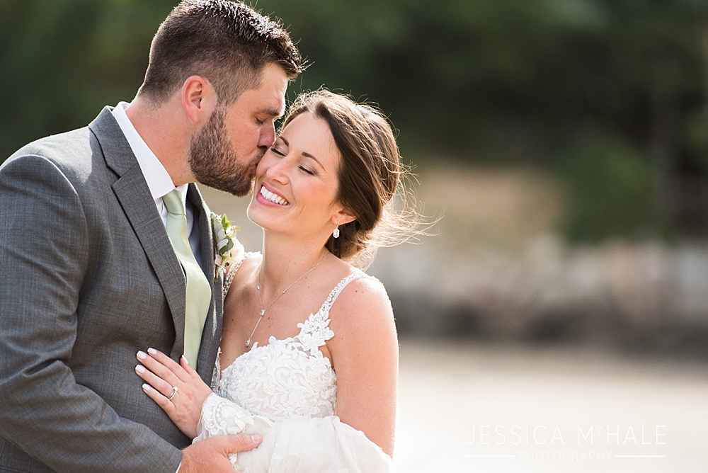 wellfleet beach wedding bride and groom