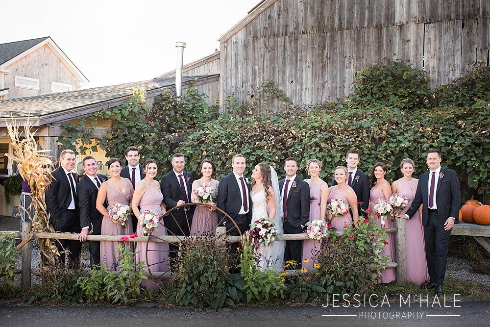 tangerini's spring street farm wedding