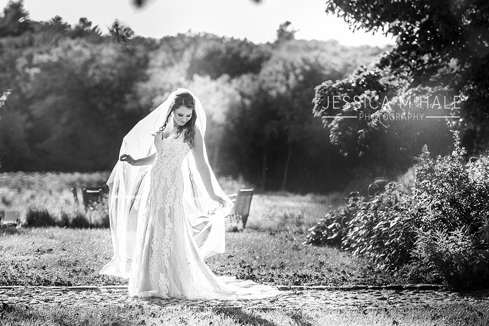 tangerini's spring street farm photographer bride on wedding day