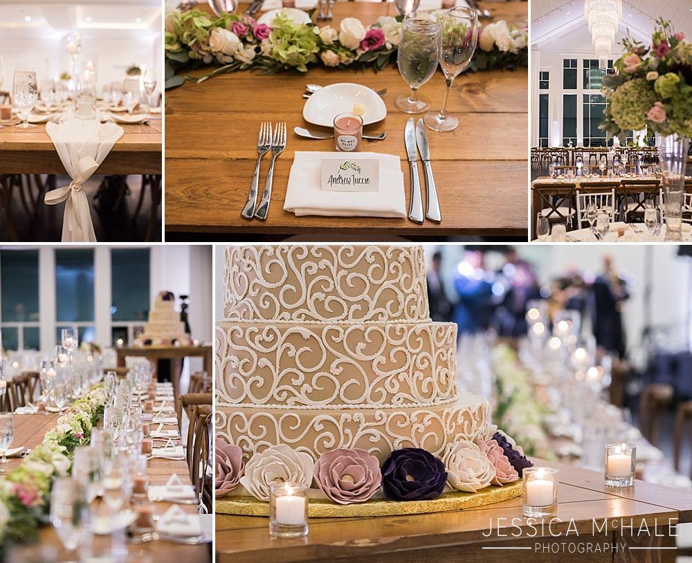 lakeview pavilion wedding reception details