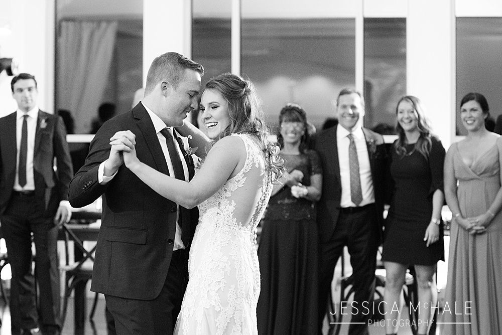 lakeview pavilion wedding first dance