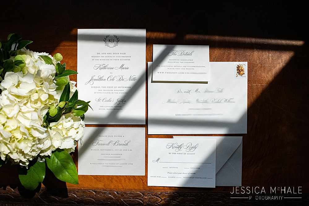 Wedding invitations Dover MA