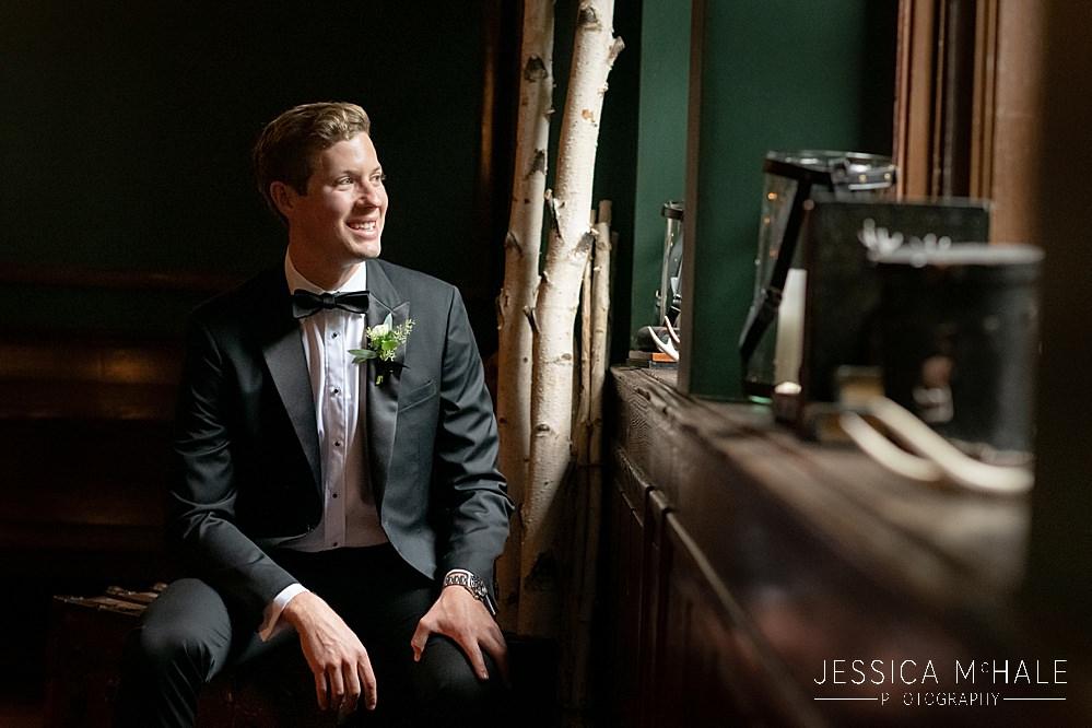 groom portrait Lord Thompson Manor