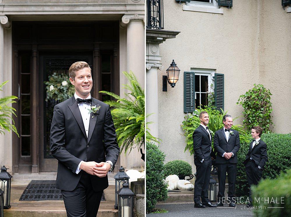 groomsmen at lord thompson manor