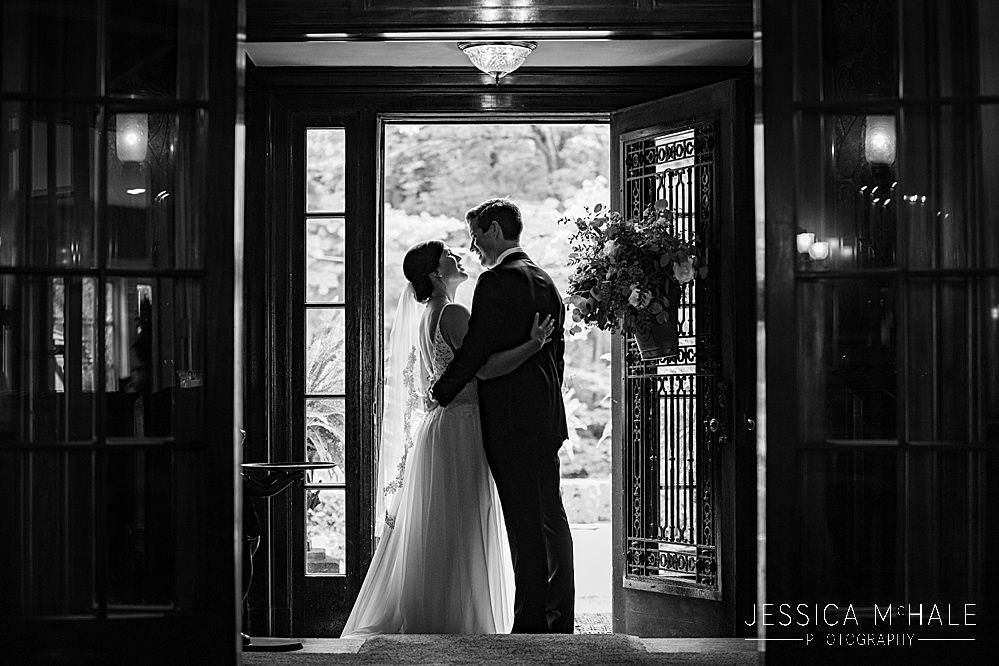 lord thompson manor wedding couple