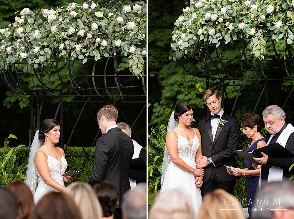 lord thompson manor wedding  ceremony