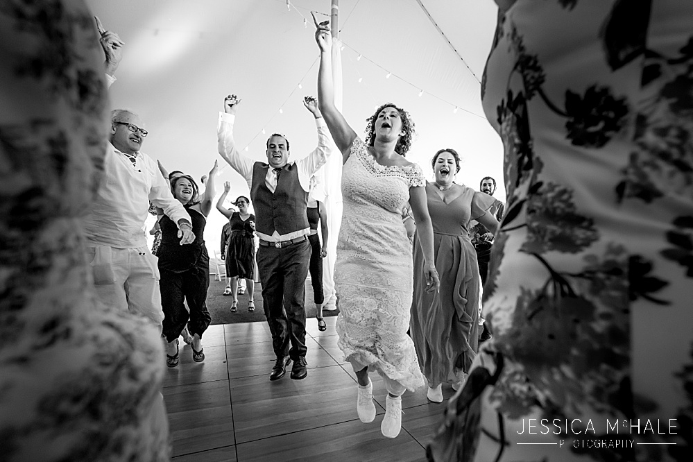 Herreshoff Maritime Museum Wedding reception dancing