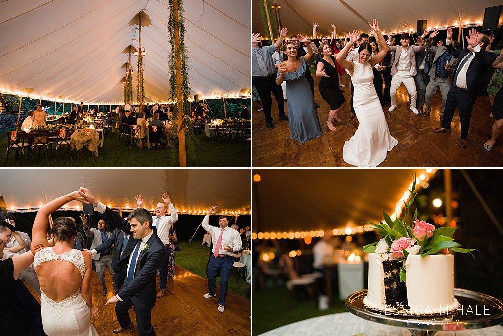 wedding reception connors center